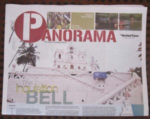 The Inqusition lives on in Goa, every day. As the bell rings on the main church in Panjim.