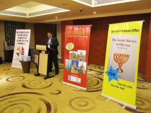 The book of the Jewish martyrs of Old Goa, was launched at Hotel Vivanta, Campal.