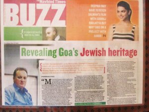 The Navhind Times writes about the book
