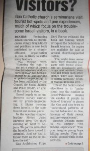 This is the report in the Gomantak Times